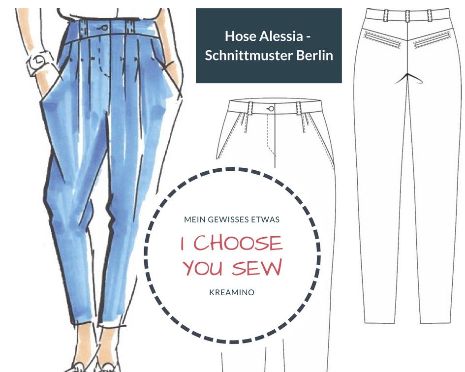 I choose | You sew: Hose Alessia – Schnittmuster Berlin + Verlosung ...