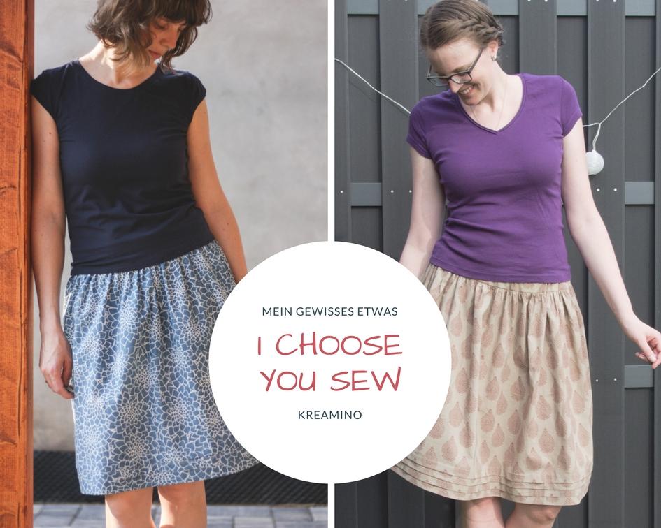 I choose | You sew April: Paris Skirt – Mein gewisses Etwas